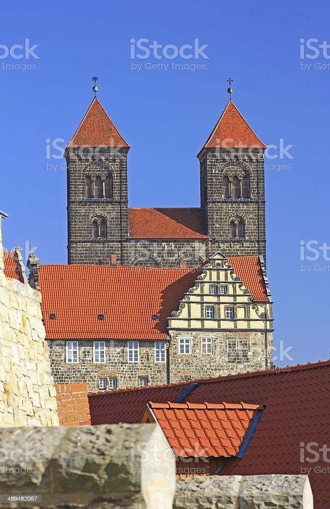 Quedlinburg, Germany royalty-free stock photo