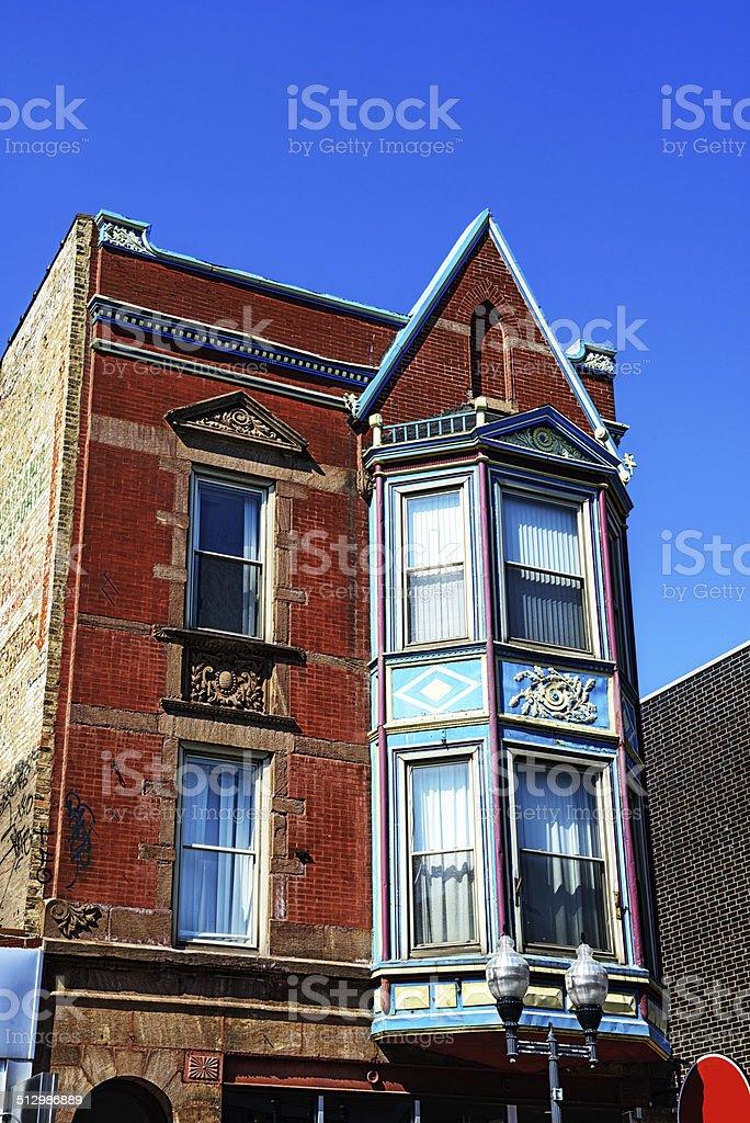 Appartements de style Queen Anne, Wicker Park, à Chicago - Photo