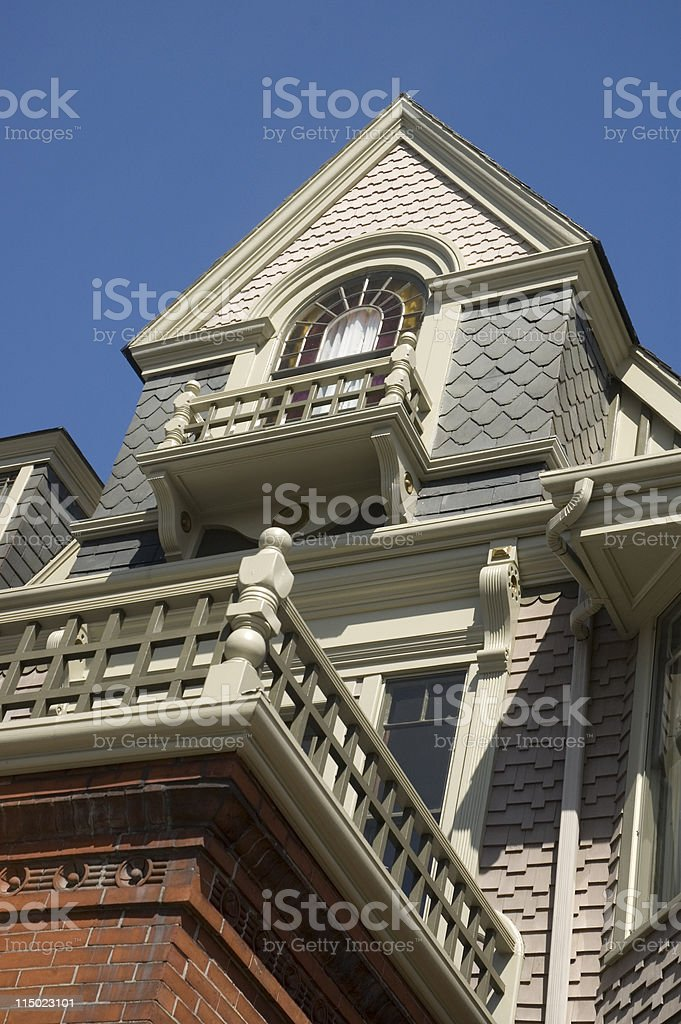 Queen Anne Style Beauty stock photo