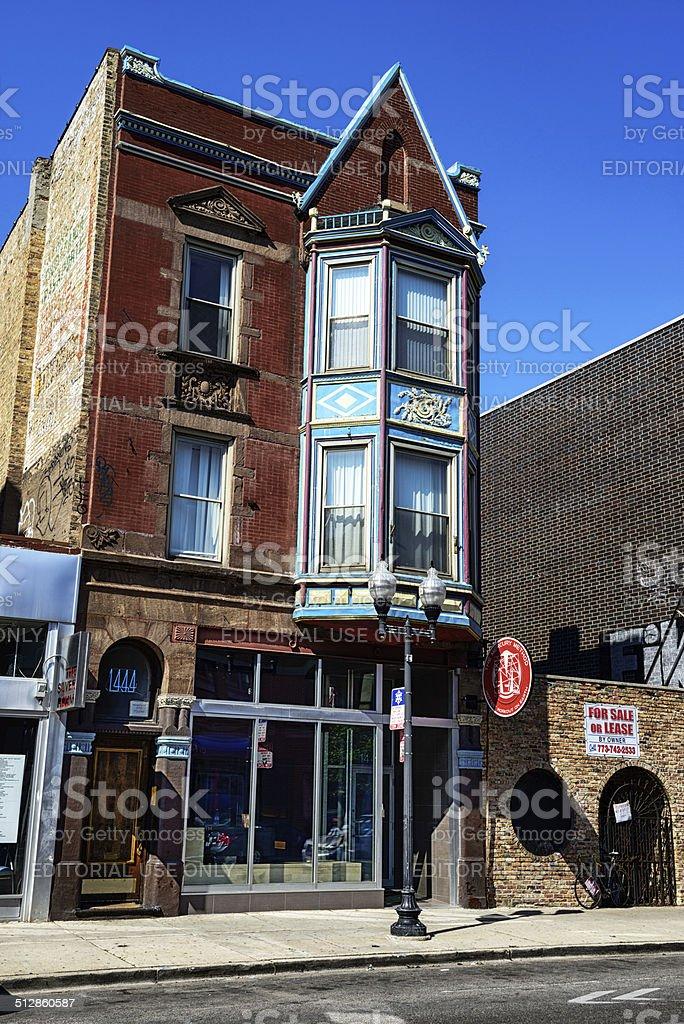 Boutique de style Queen Anne et apartment building, à Chicago - Photo