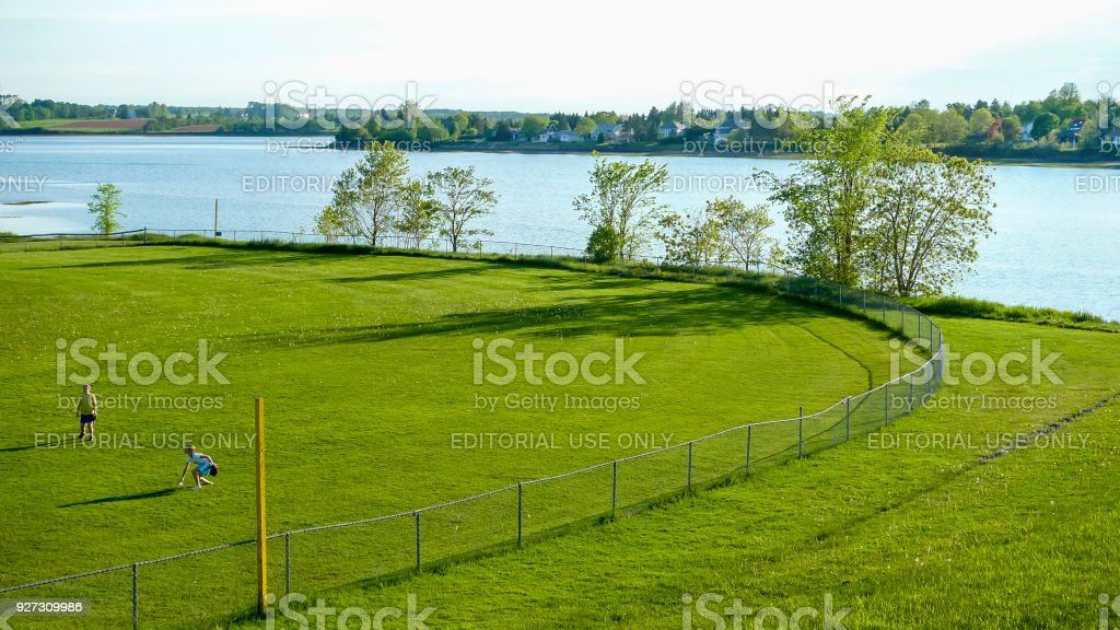Queen Elizabeth Park, Charlottetown stock photo
