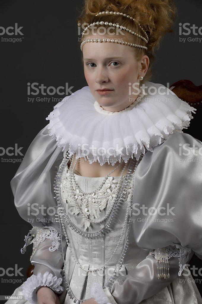 Queen Elizabeth royalty-free stock photo