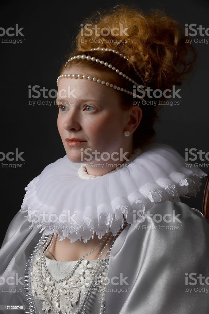 Queen Elizabeth royalty-free stock photo