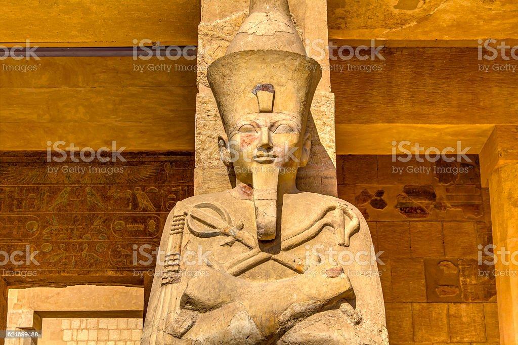 queen Hatshepsut stock photo