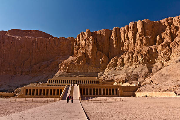 Queen Hatshepsut's Temple, Luxor, Egypt Queen Hatshepsut's Temple, Luxor, Egypt valley of the kings stock pictures, royalty-free photos & images