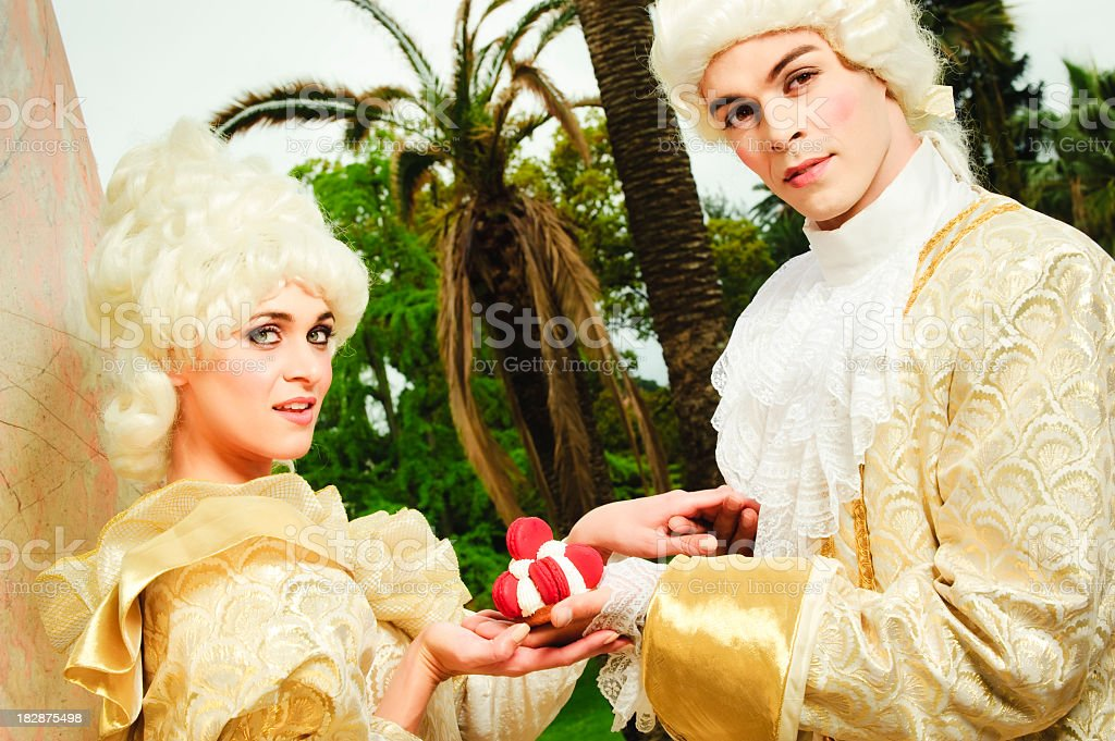 Queen in love royalty-free stock photo