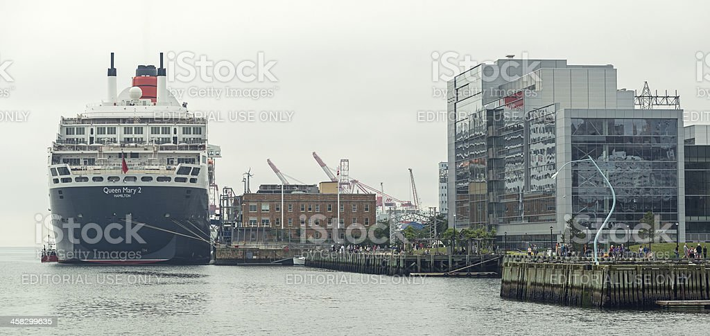 Queen Mary II royalty-free stock photo