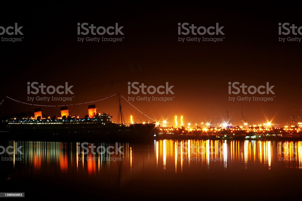 Queen Mary royalty-free stock photo