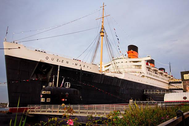 Queen Mary stock photo