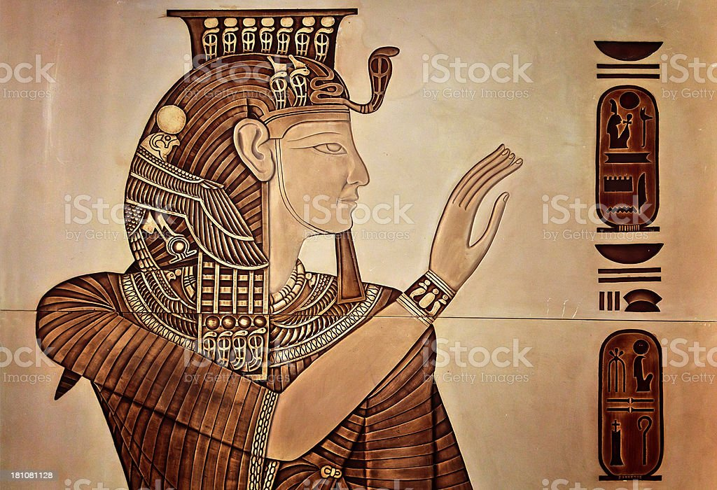 Queen Nefertiti royalty-free stock photo