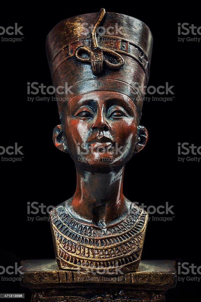 Queen Nefertiti stock photo
