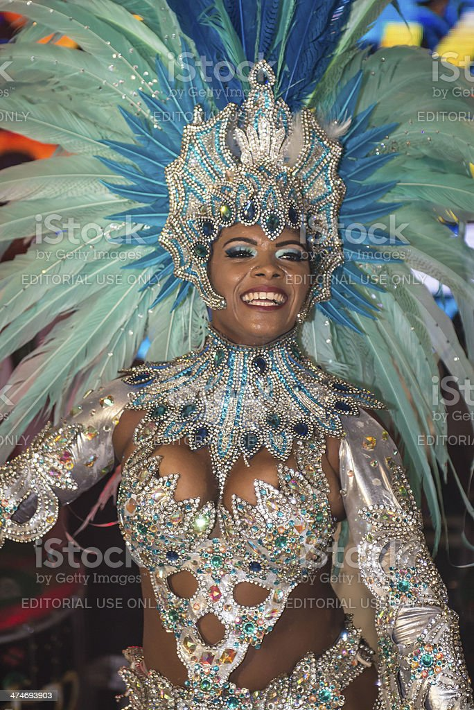 Queen of Carnival 2014 royalty-free stock photo