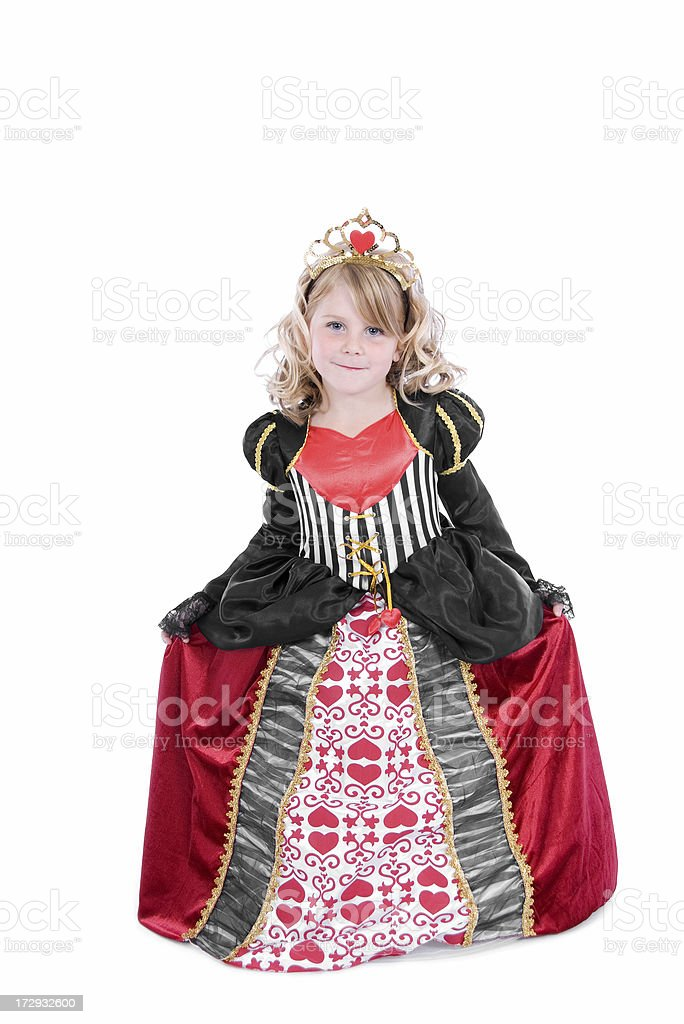 Queen of Hearts Series royalty-free stock photo