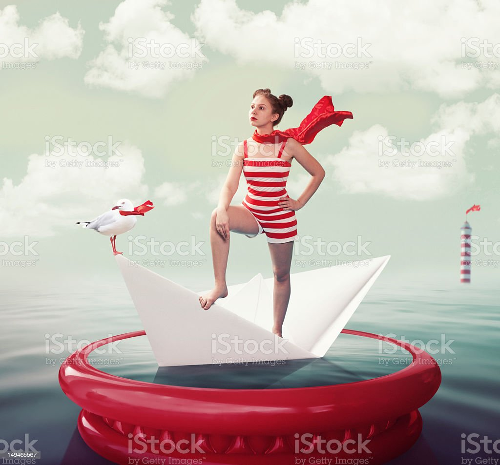 Queen of the Sea royalty-free stock photo
