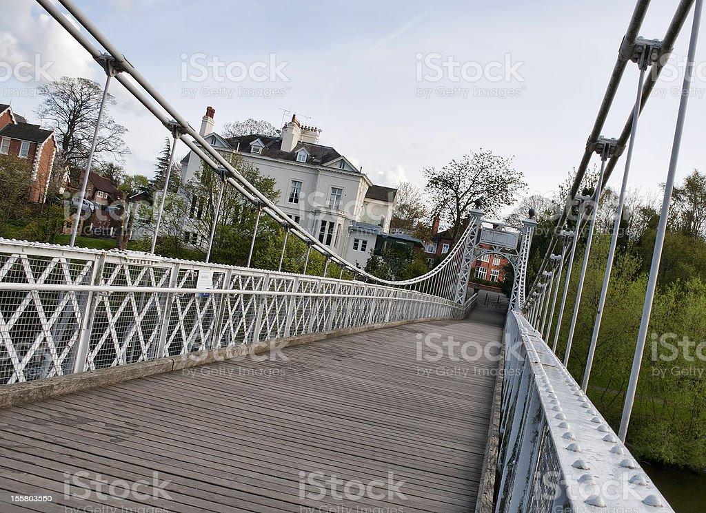 Queen Park Bridge royalty-free stock photo