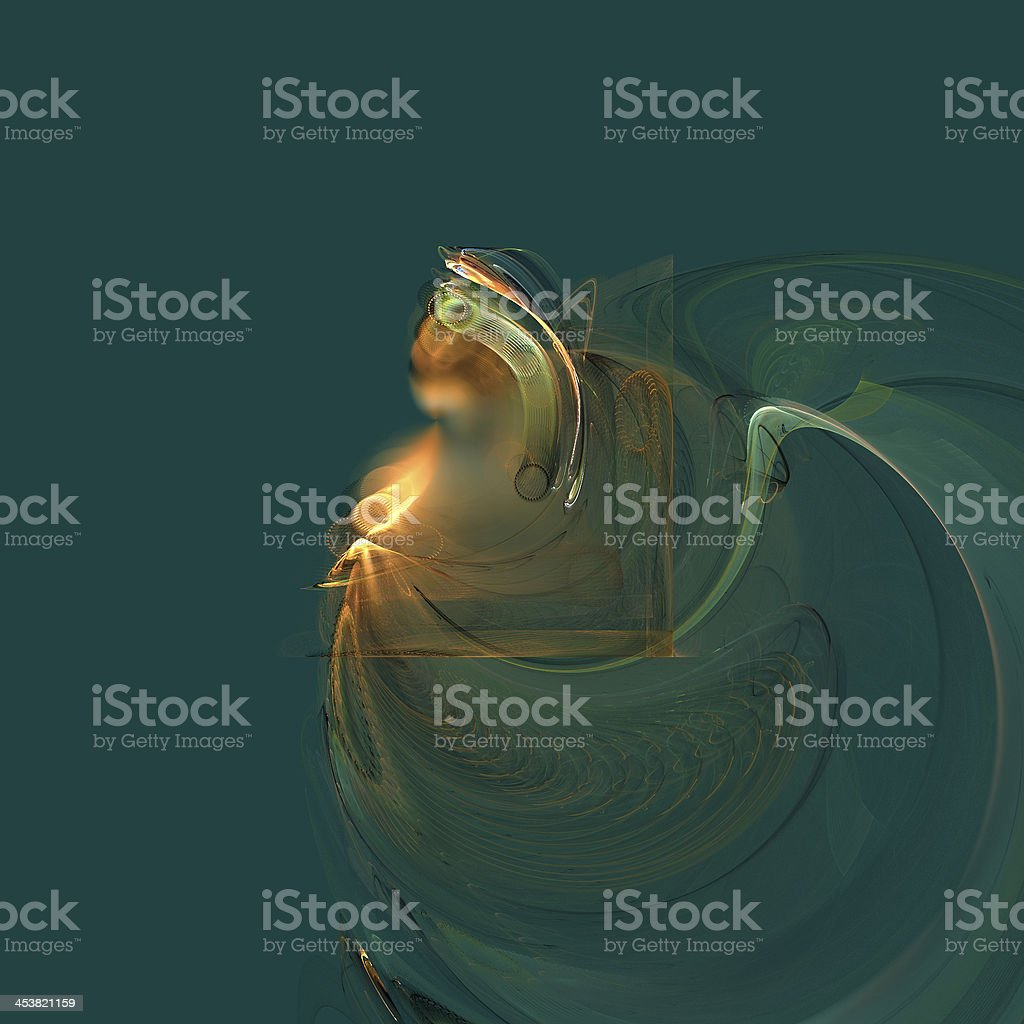 Queen royalty-free stock photo