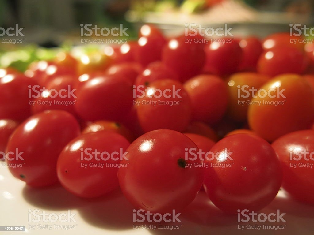 Queen tomatoes (Grape tomato) royalty-free stock photo