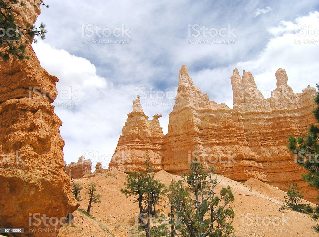 Queen Victoria at Bryce Canyon stock photo