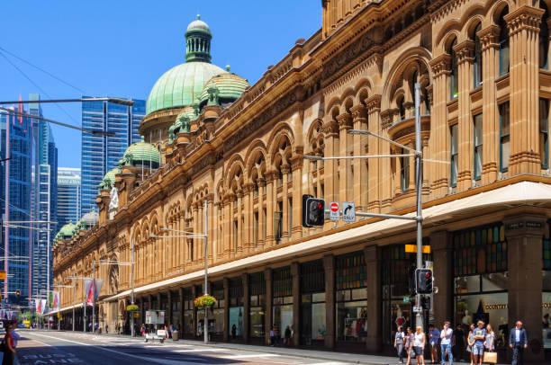 Queen Victoria Building - Sydney stock photo
