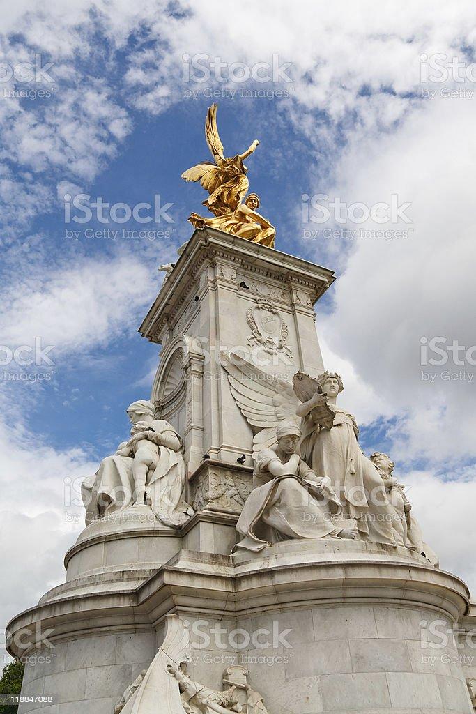 Queen Victoria Memorial, London stock photo