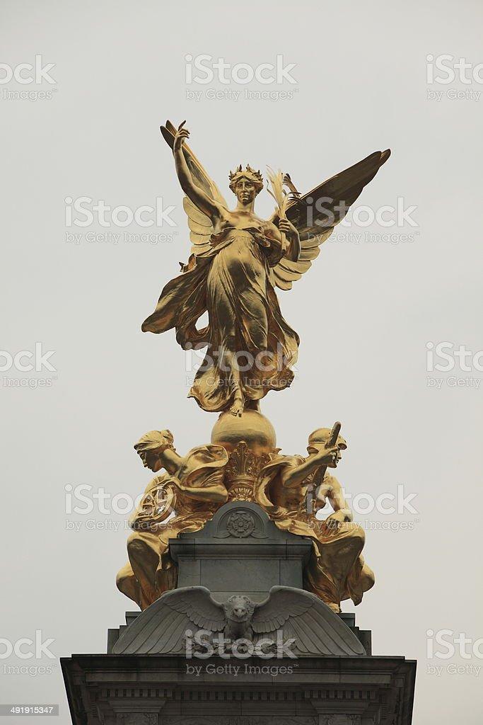 Queen Victoria Memorial stock photo