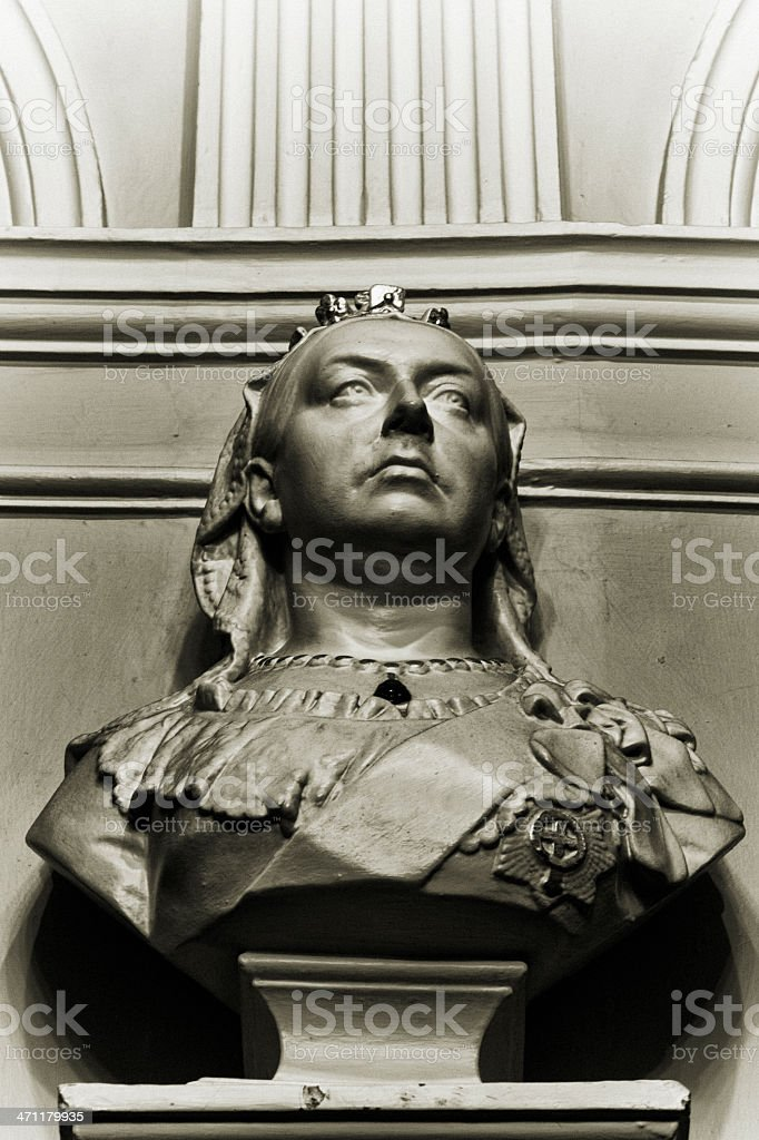 Queen Victoria royalty-free stock photo