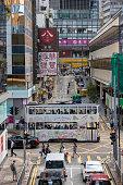 istock Queen Victoria Street in Hong Kong Domain Dolly Queen Street 1336331458