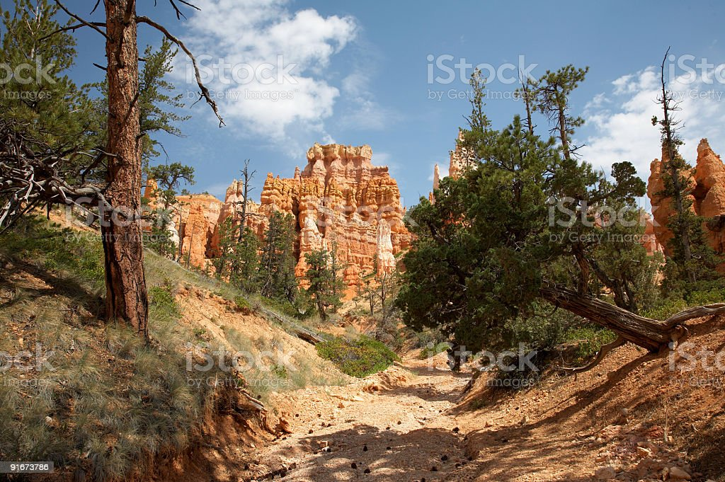 Queens Garden Trail Bryce Canyon stock photo