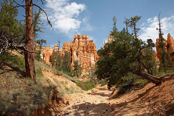 Queens Garden Trail Bryce Canyon stock photo