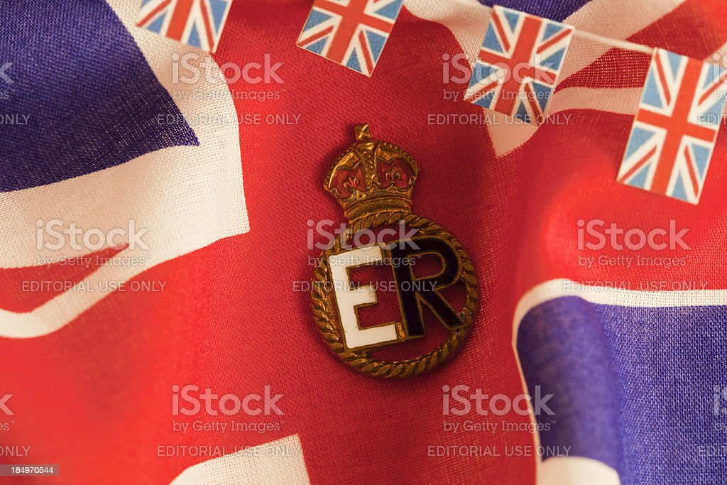 Queens Jubilee royalty-free stock photo