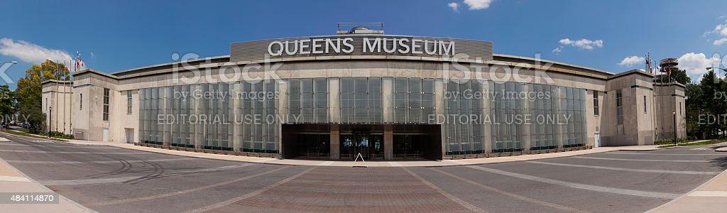 Queens Museum stock photo
