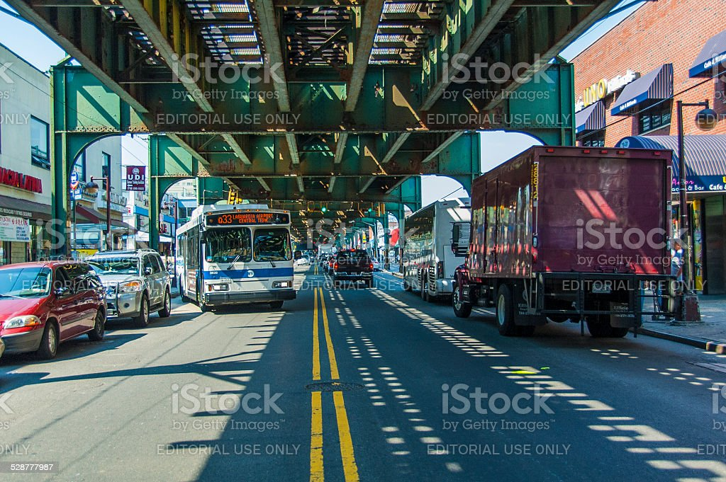 Queens stock photo