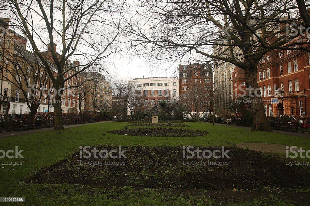 Queens Square stock photo