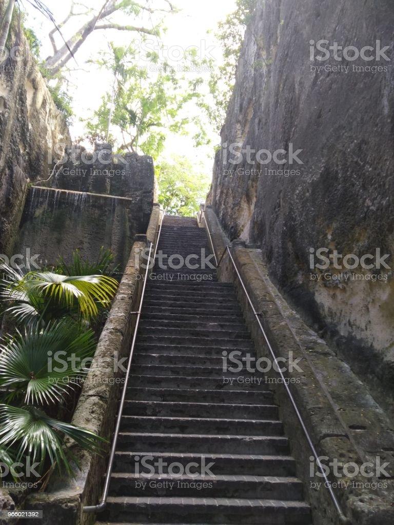 Königin der Treppe, Nassau, Bahamas - Lizenzfrei Bahamas Stock-Foto