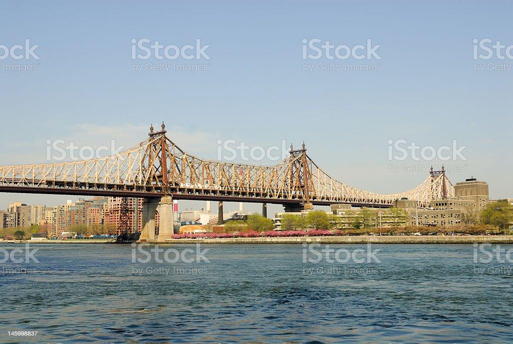 Queensboro Bridge, New York stock photo
