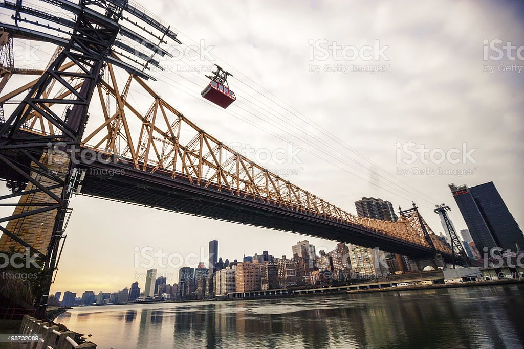 Queensboro Bridge, New York, USA stock photo