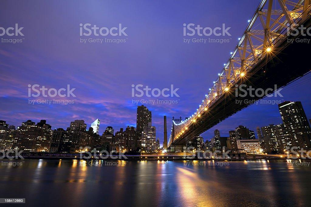 NYC Queensboro Bridge royalty-free stock photo