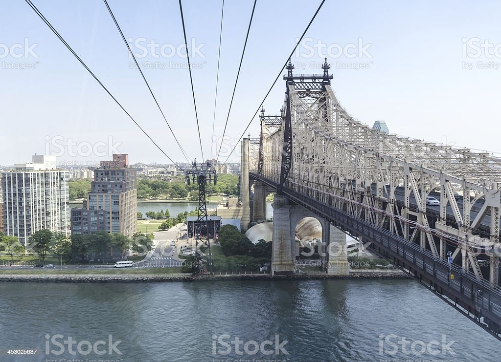 Queensboro bridge royalty-free stock photo