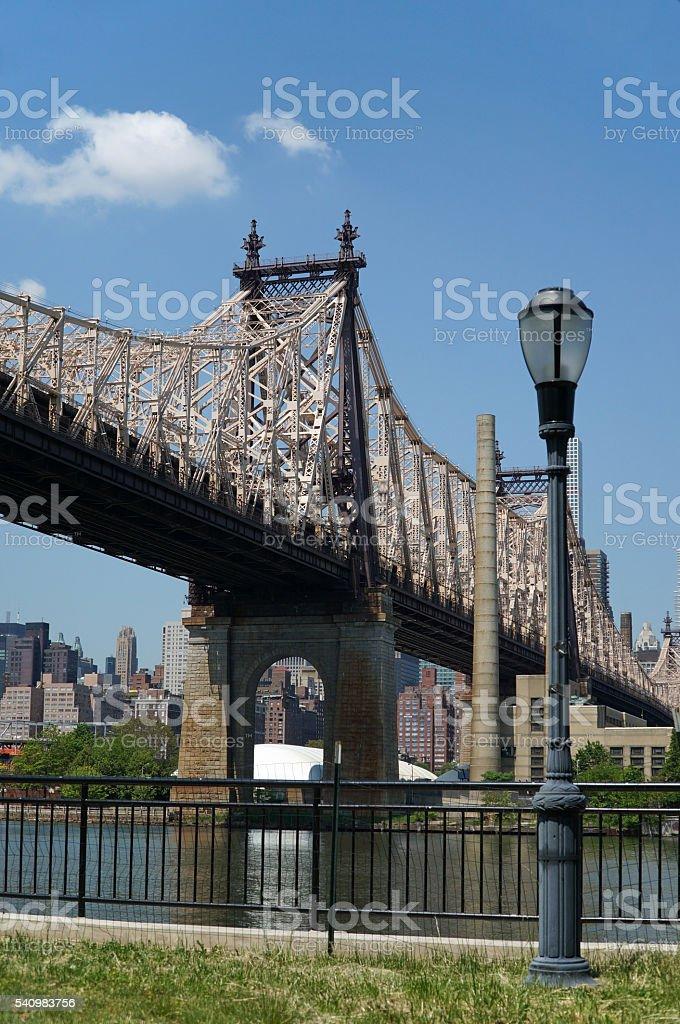 Queensboro Bridge stock photo