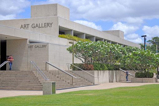 Queensland Art Gallery in Brisbane Australia