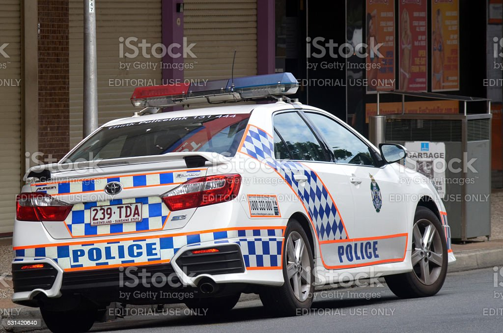 Queensland Police Service (QPS) - Australia stock photo