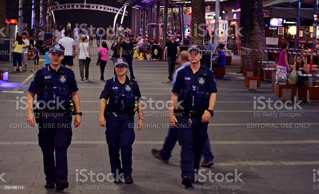 Queensland Police Service (QPS) -Australia stock photo