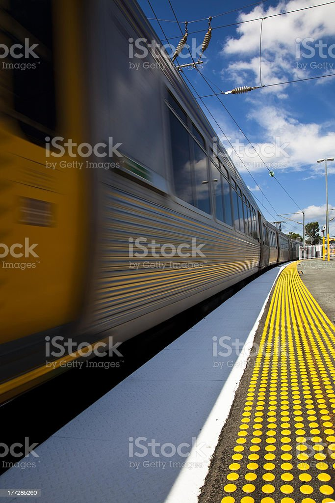 Queensland Rail stock photo