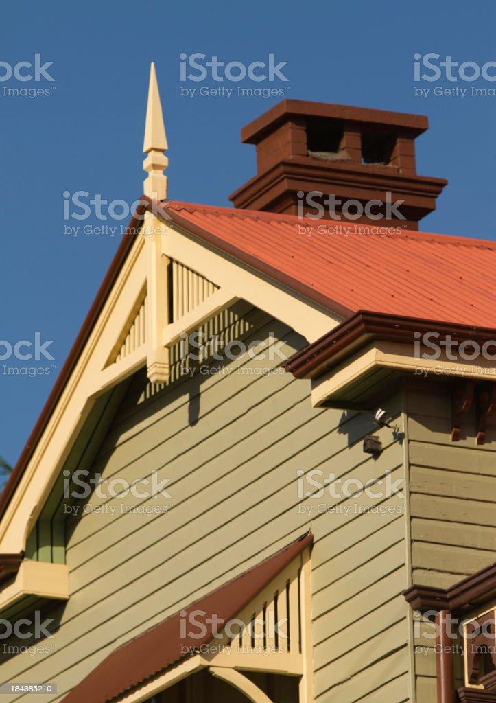 Queenslander home stock photo