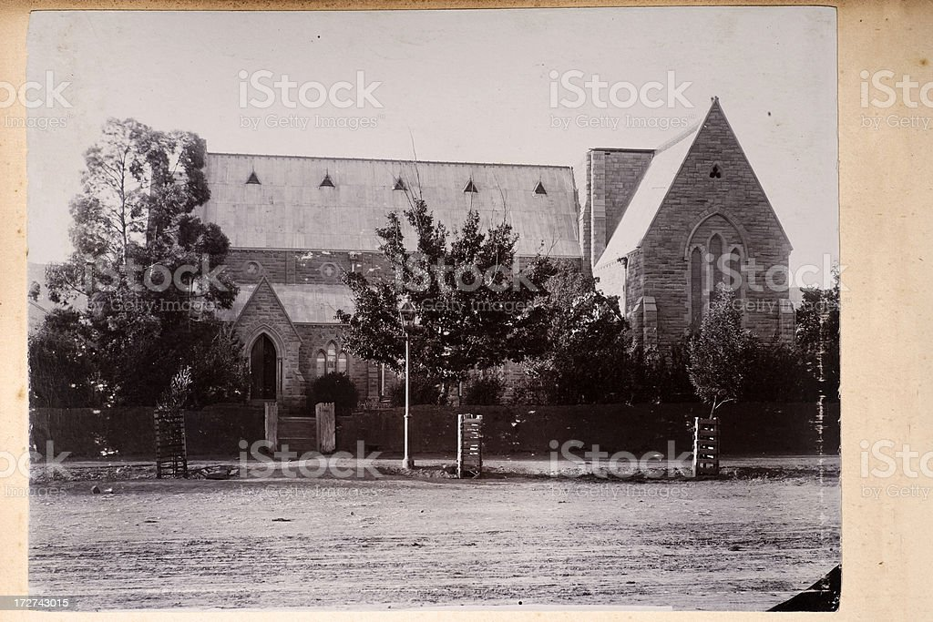 Queenstown Church royalty-free stock photo