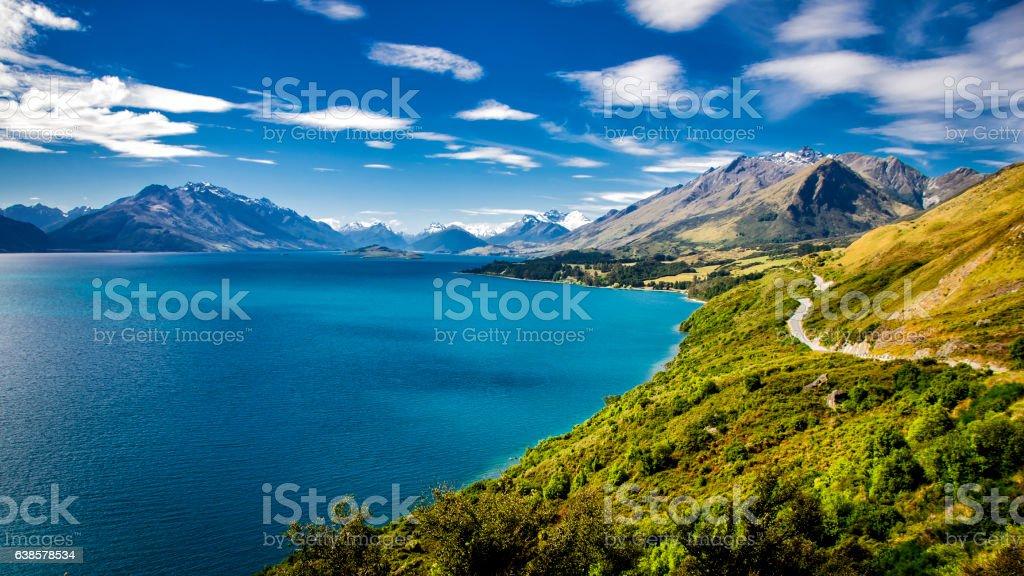 Queenstown, New Zealand stock photo