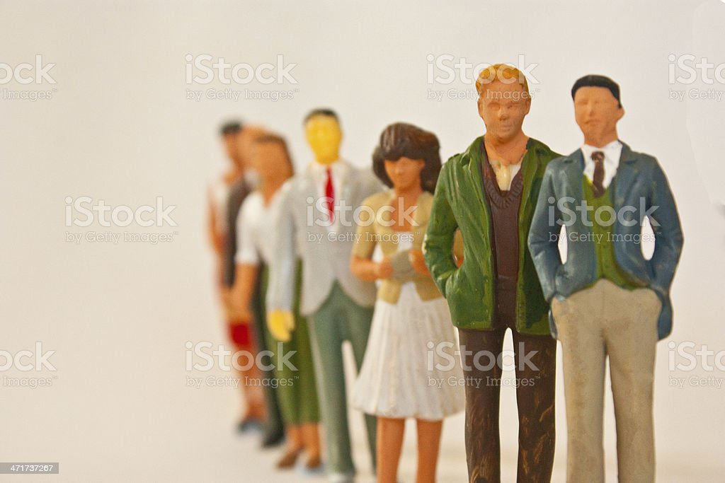 Queing stock photo
