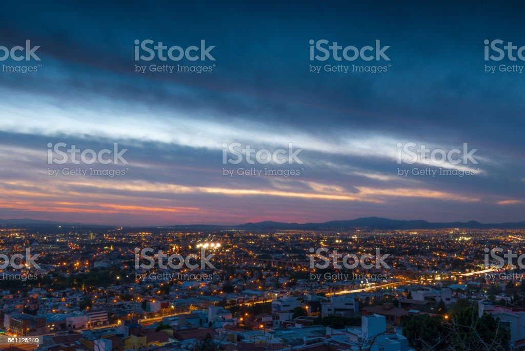 Queretaro City Scape stock photo