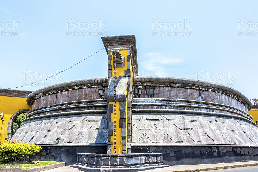Queretaro City Water Tank stock photo