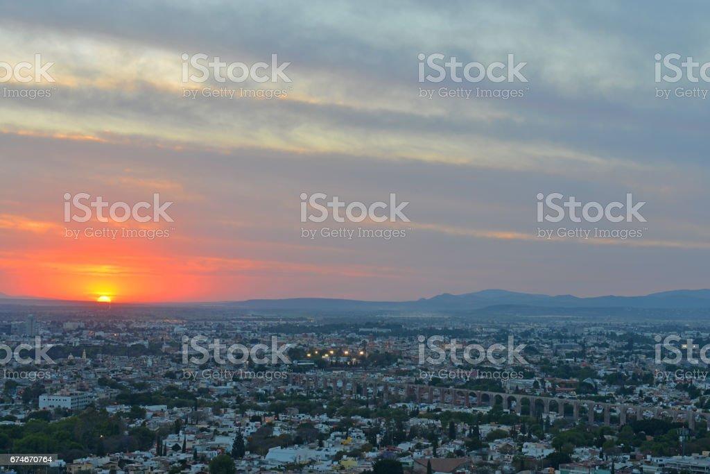 Queretaro Skyline stock photo